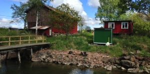 Overvåking stasjon på Göta elv