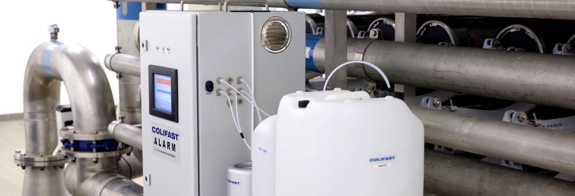 Process monitoring water treatment plant