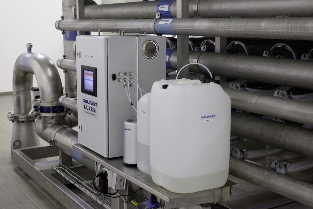 Colifast ALARM prosessmonitorerning - ultra filtrasjon vannbehandling